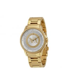 Armani Exchange Crystal Dial Ladies Watch