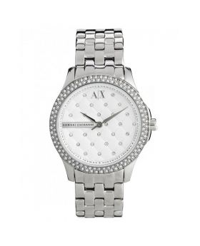 Armani Exchange Women's AX5215 Silver Stainless-Steel Quartz Watch