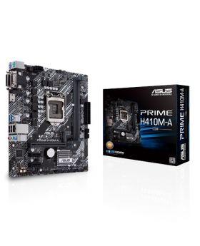 Asus PRIME H410M-A/CSM Intel® H410 (LGA 1200) mic-ATX motherboard with M.2 support, DDR4 2933MHz, HDMI, D-Sub, DVI, USB 3.2 Gen 1 ports, SATA 6 Gbps, COM header, TPM header