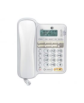 AT&T CL2909 One-Line Corded Speakerphone.