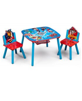 Nick Jr. PAW Patrol Table And Chair Set With Storage