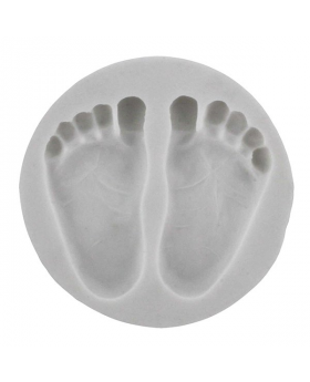 Baby Feet  Silicone Mold
