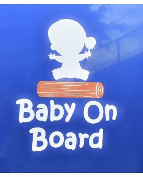 Baby On Board Up Close