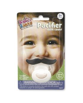 Cute Baby Mustache and Lipstick Pacifier