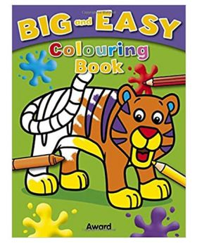 Big and Easy Colouring Book Award (Tiger) by Angela Hewitt