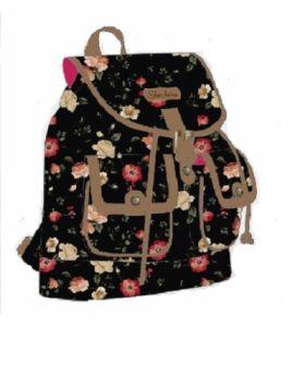 Skechers - Vera 25 Drawstring Backpack Black Floral