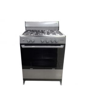 Blackpoint 30 Inch Silver Steel Gas Stove
