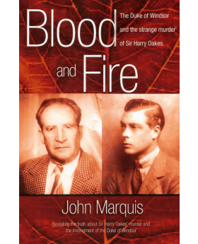 Cover for Blood and Fire by John Marquis