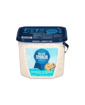 Blue Ribbon Classics Cookies 'N Cream Ice Cream 1 Gallon