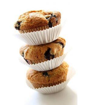 Blueberry Muffins 6 Count