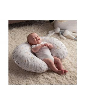 Boppy Original Nursing Pillow And Positioner, Notebook Black And Gold