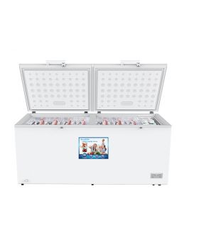 Blackpoint BP29FZ-WHT-220VT 22 Cu. Ft. 220V 50Hz Commercial Double Door Freezer In White