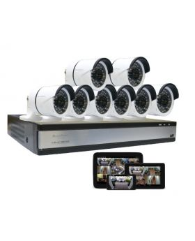 Blackpoint Elite Full HD Security Camera System With 2 Terabyte Storage