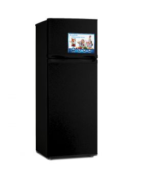 Blackpoint BP11-BLINGBLING-B-R 11 Cu. Ft. Double Door Refrigerator