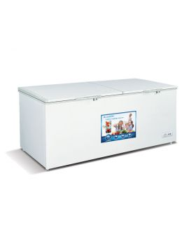 Imperial IMP23FZ-WHT-LED 23 Cu. Ft. Commercial Double Door Freezer In White