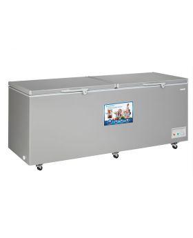 Blackpoint BP33-COMM-220VT 33 Cu. Ft. 220V 50Hz Commercial Double Door Freezer In Grey