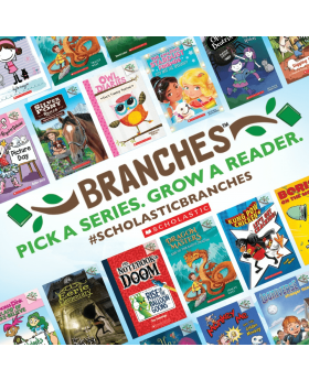 50 Pack Branches Pick A Series Grow A Reader From Scholastics Get A  FREE Stand and Graphic Organizer