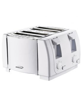 Brentwood TS-265 4 Slices Toaster White