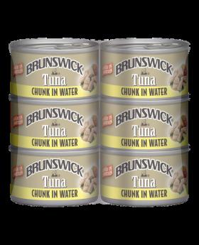 Brunswick Chunk Tuna In Water 6x142g