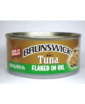 Brunswick Flaked Tuna Oil 142g 6 Pack