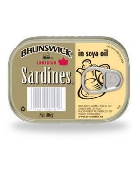 Brunswick Sardines in Oil 5x106g