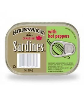 Brunswick Sardines with Hot Pepper 5x106g