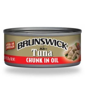 Brunswick Tuna Chunk in Oil 6x142g