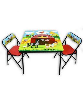 Barnyard Table & Chair Set
