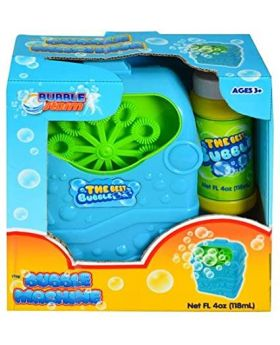 Bubble Storm Bubble Machine with 4oz Bubble