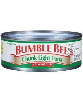 Bumble Bee Chunk Light Tuna in Oil 6x6oz