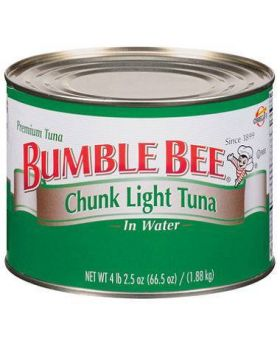 Bumble-Bee-Chunk-Light-Tuna-in-Water-66.5oz-Front-View