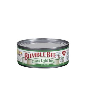 Bumble Bee Chunk Light Tuna in Water 6x6oz