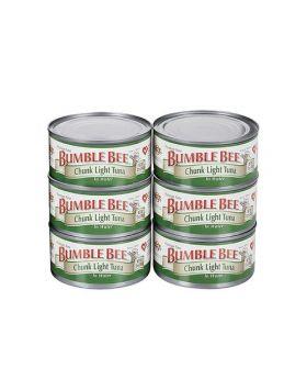 Bumble Bee Chunk Light Tuna in Water 6x6oz