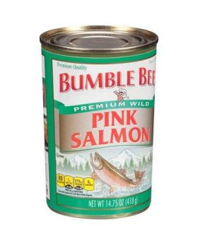 Bumble Bee Pink Salmon 4x14.75oz