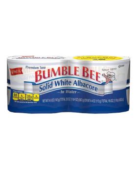 Bumble Bee Solid White Albacore in Water 5 Oz. 4 Pack