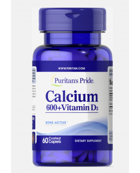 Calcium Carbonate 600mg + Vitamin D