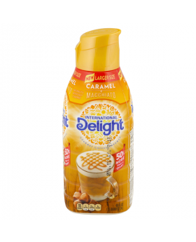 Int'l Delight Caramel Coffee Creamer, 48oz