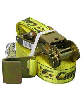 "CargoLoc 2""x27"" Yellow Ratchet Tie Down"