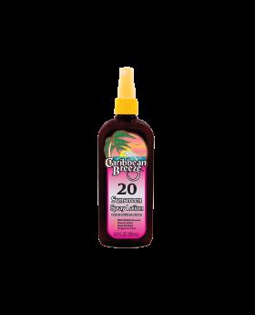 Caribbean Breeze SPF 20 Sunscreen Spray Lotion