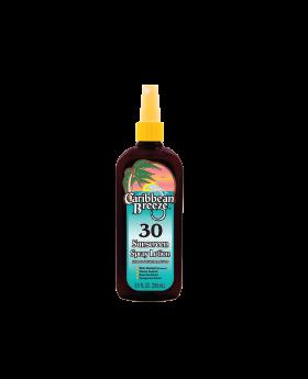 Caribbean Breeze SPF 30 Sunscreen Spray Lotion
