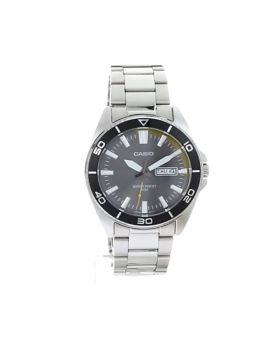 Casio Men's Dive Style Watch, Gray Day-Date Dial