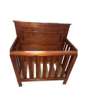 """Hand Crafted 22"""" x 42"""" Cedar Baby Crib"""
