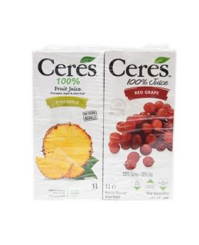 Ceres 100% Juice Blend 1 Litre Variety 4 Pack