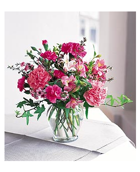 Cheerful Carnations Floral Arrangement