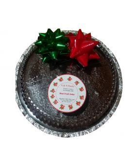 Christmas Cake, Fruit Cake, REAL JAMAICAN FRUIT CAKE 2 lbs