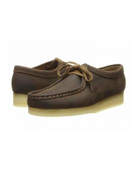 Clarks Wallabee (Beeswax leather 1) Women's Lace up Casual Shoes 8M