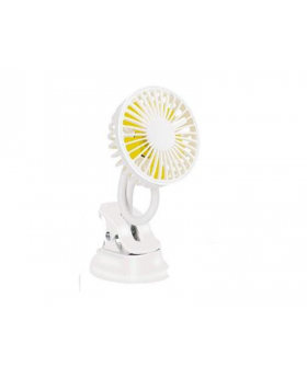 Clip on Mini Fan with Power Bank