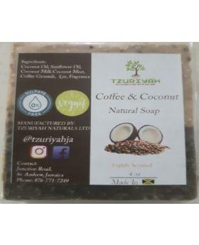 Coffee Coconut Bar Soap (4oz)