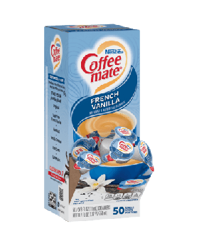 COFFEE-MATE French Vanilla Liquid 4 x 50 (Display Box)
