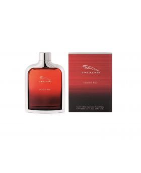 Jaguar Classic Red Eau de Toilette Spray for Men, 3.4 Fl. Oz.